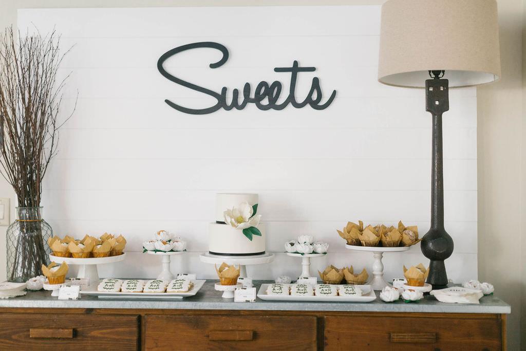 Bridal Brunch Dessert Sweets Bar