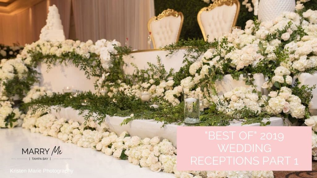 """""""Best of"""" 2019: Tampa Bay Wedding Reception Venues and Decor"""
