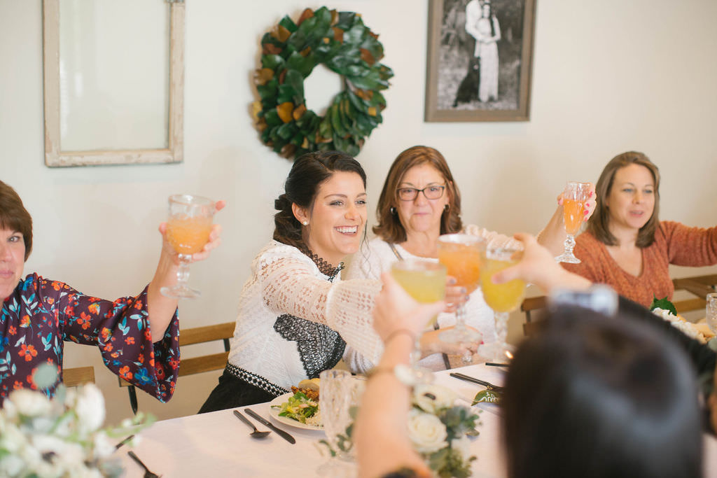 Southern Brunch Bridal Shower Mimosa Cheers Portrait