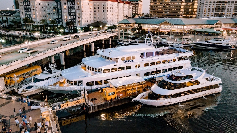 Yacht Starship NYE Dinner and Celebration in Tampa Bay