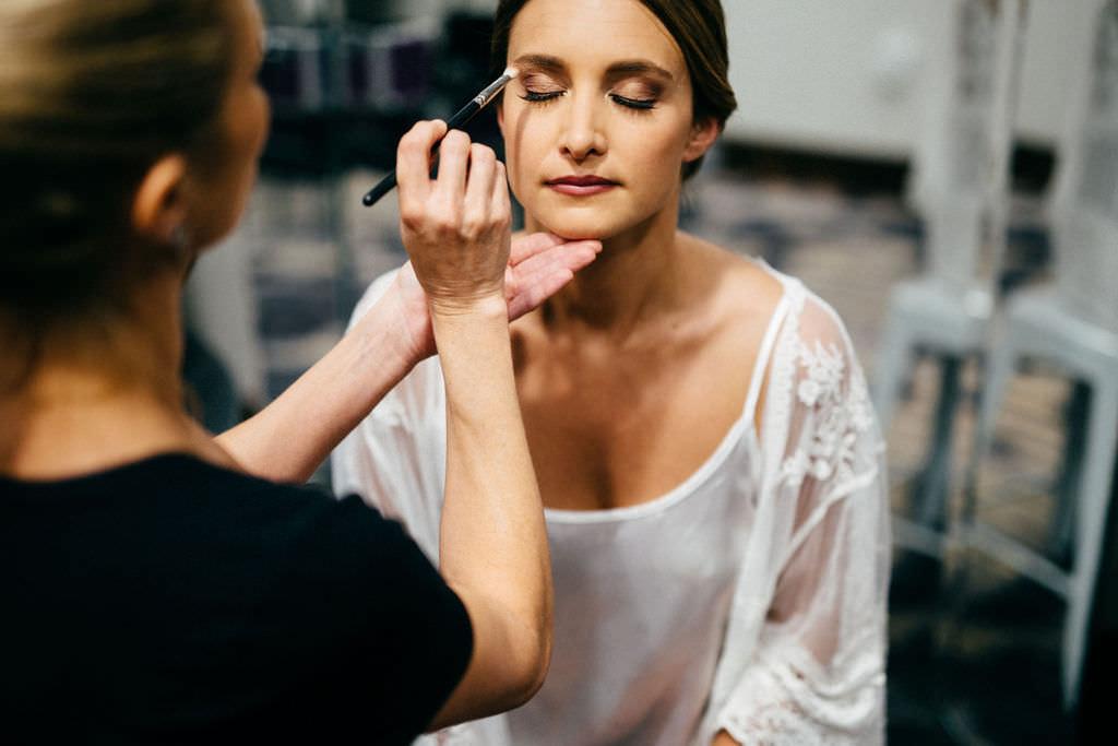 Florida Bride Getting Ready Makeup Beauty Wedding Portrait   Tampa Bay Wedding Hair and Makeup Femme Akoi Beauty Studio