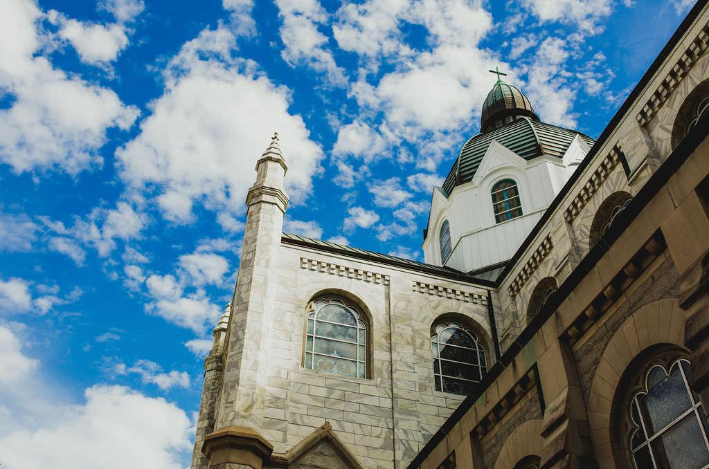 Downtown Tampa Historic Wedding Venue Sacred Heart Catholic Church