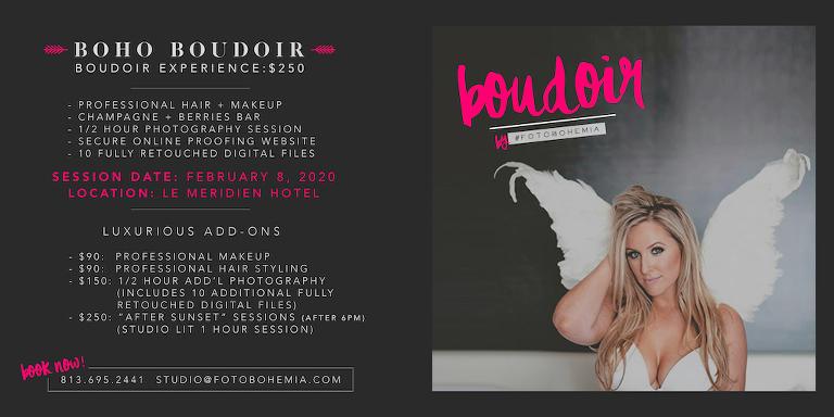 Foto Bohemia Valentines Day 2020 Tampa Boudoir Special