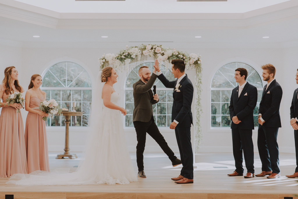 Clearwater Wedding Venue Harborside Chapel | Classic Traditional Church Wedding Ceremony | Memorable Wedding Moment