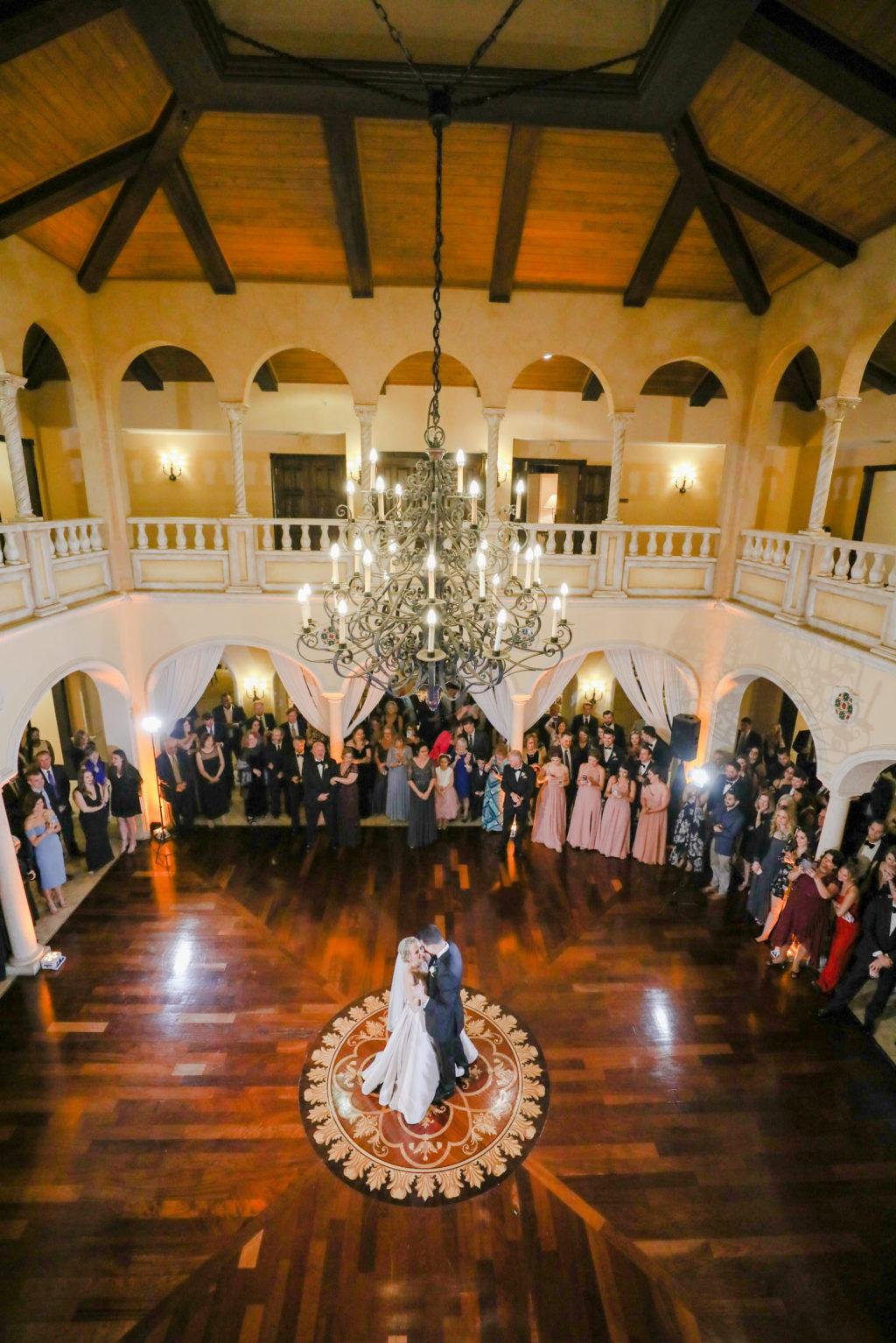 Tampa Wedding Venue Avila Golf & Country Club | Indoor Ballroom Reception with Dance Floor and Chandeliers | Tampa Bay Wedding Photographer Lifelong Photography Studio | DJ Grant Hemond & Associates