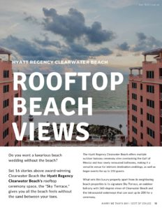 Hyatt Regency Clearwater Beach | Best Tampa Bay Wedding Venues Digital Magazine