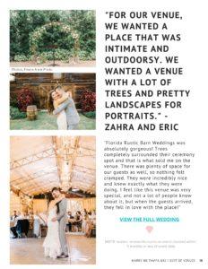 Florida Rustic Barn Weddings at Gable Oaks Ranch   Best Tampa Wedding Venues Digital Magazine