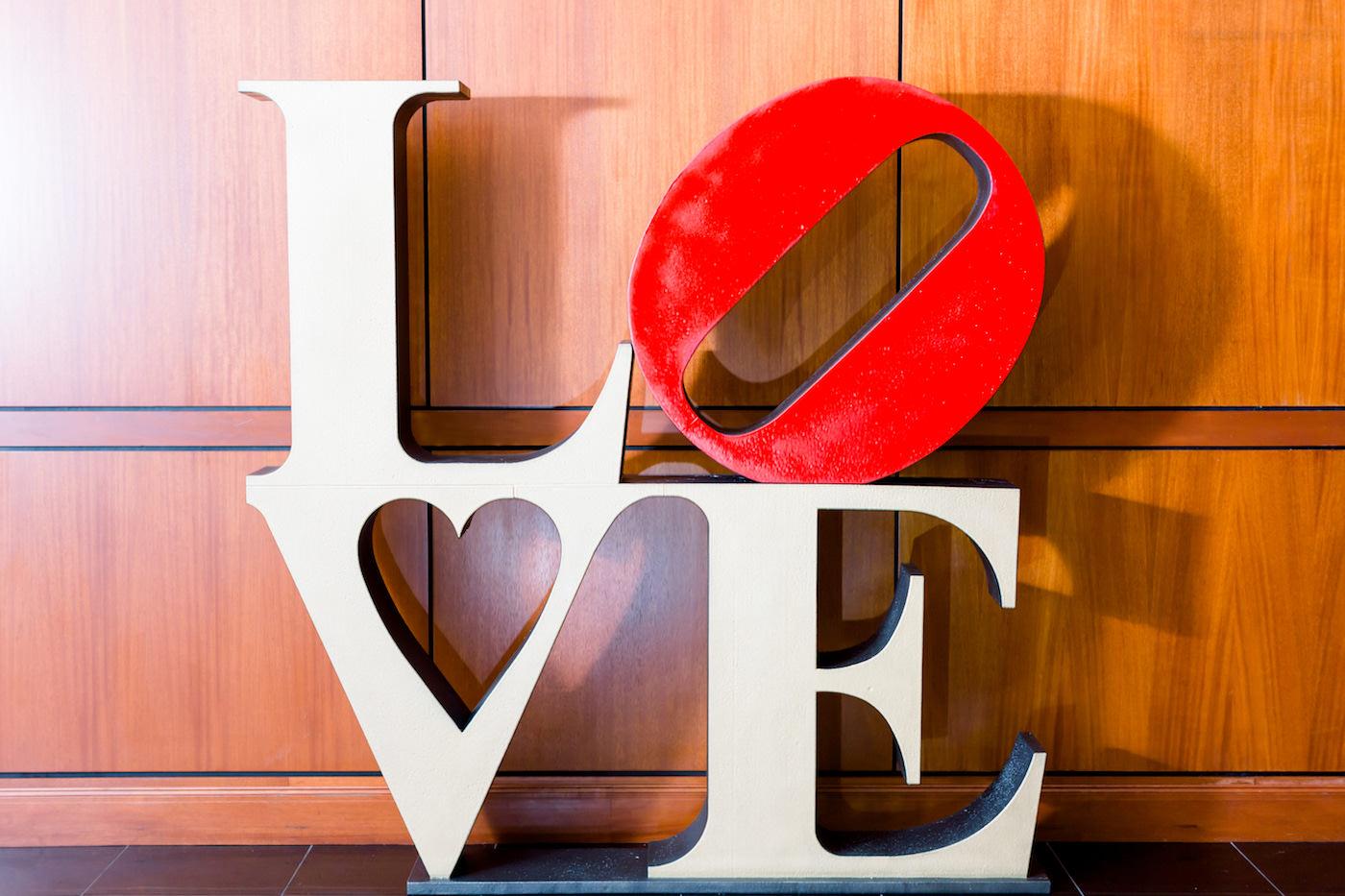 Large LOVE Wedding Reception Decor Standing Sign | Wedding Photographer Shauna and Jordon Photography | Tampa Bay Wedding Planner UNIQUE Weddings + Events | Wedding Rentals A Chair Affair
