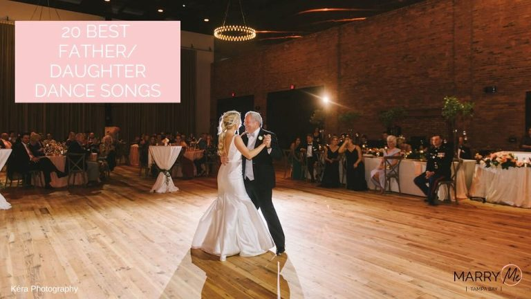 Father Daughter First Dance   Tampa Bay Wedding Photographer Kera Photography