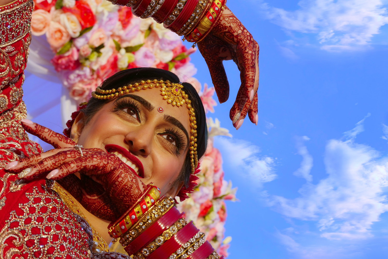 Tampa Florida Indian Wedding | Indian Bride Mehndi | Tampa Wedding Hair and Makeup Michele Renee The Studio