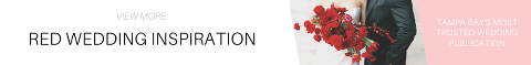 Red Wedding Inspiration Banner