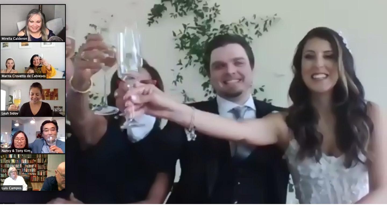 Virtual Wedding via Zoom