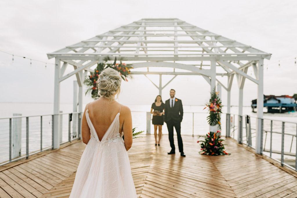 Waterfront Wedding Venue The Godfrey Hotel | Wedding Planner Elope Tampa Bay | Amber McWhorter Photography