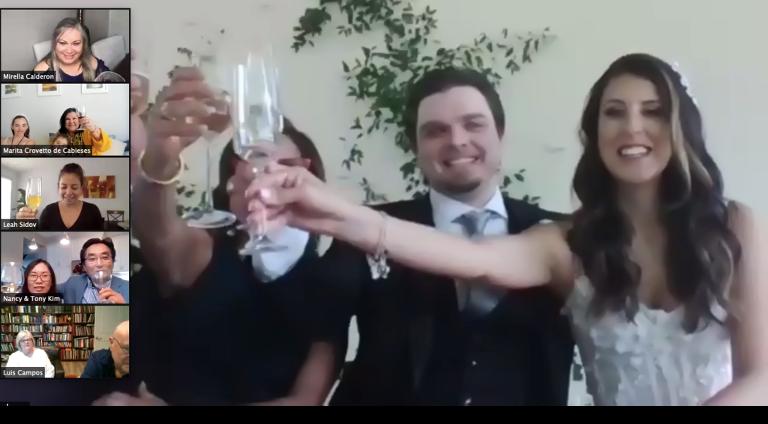 Virtual Wedding Coordinator | Advice on Hosting a Zoom Wedding