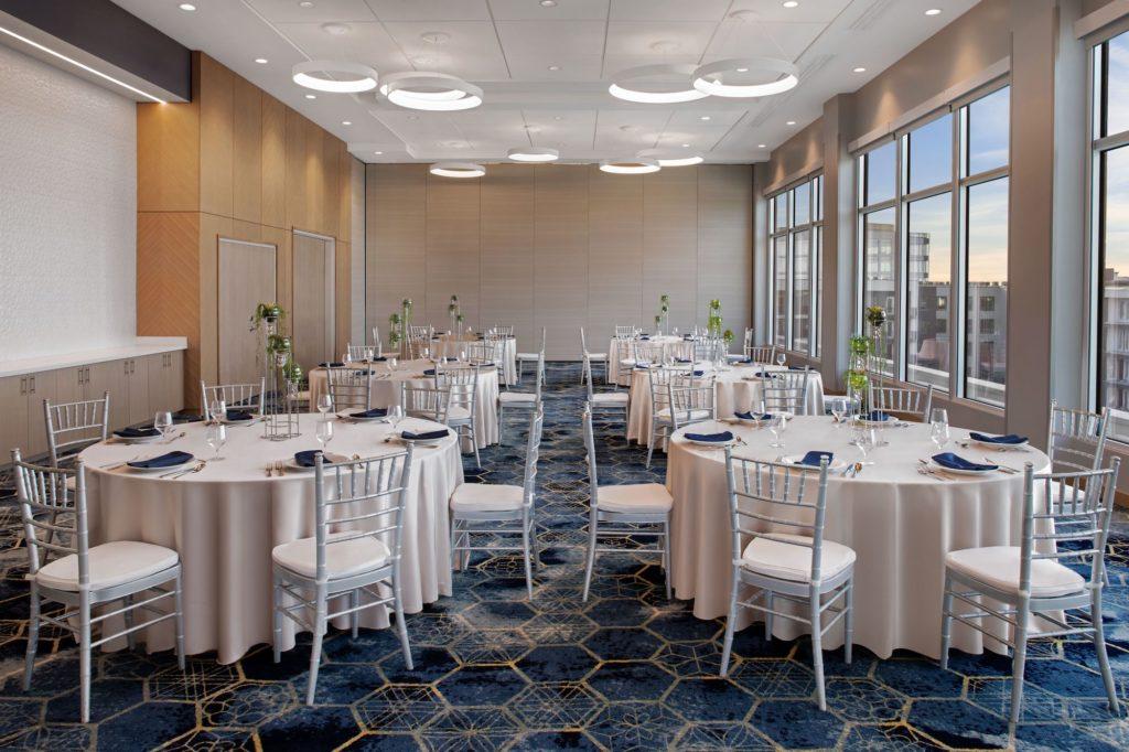 Aloft-Element Tampa Midtown   New Tampa Bay Wedding Venue   Skyline Ballroom