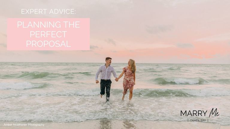 Tips and Ideas for Planning the Perfect Tampa Bay Wedding Proposal | Amber McWhorter Photography