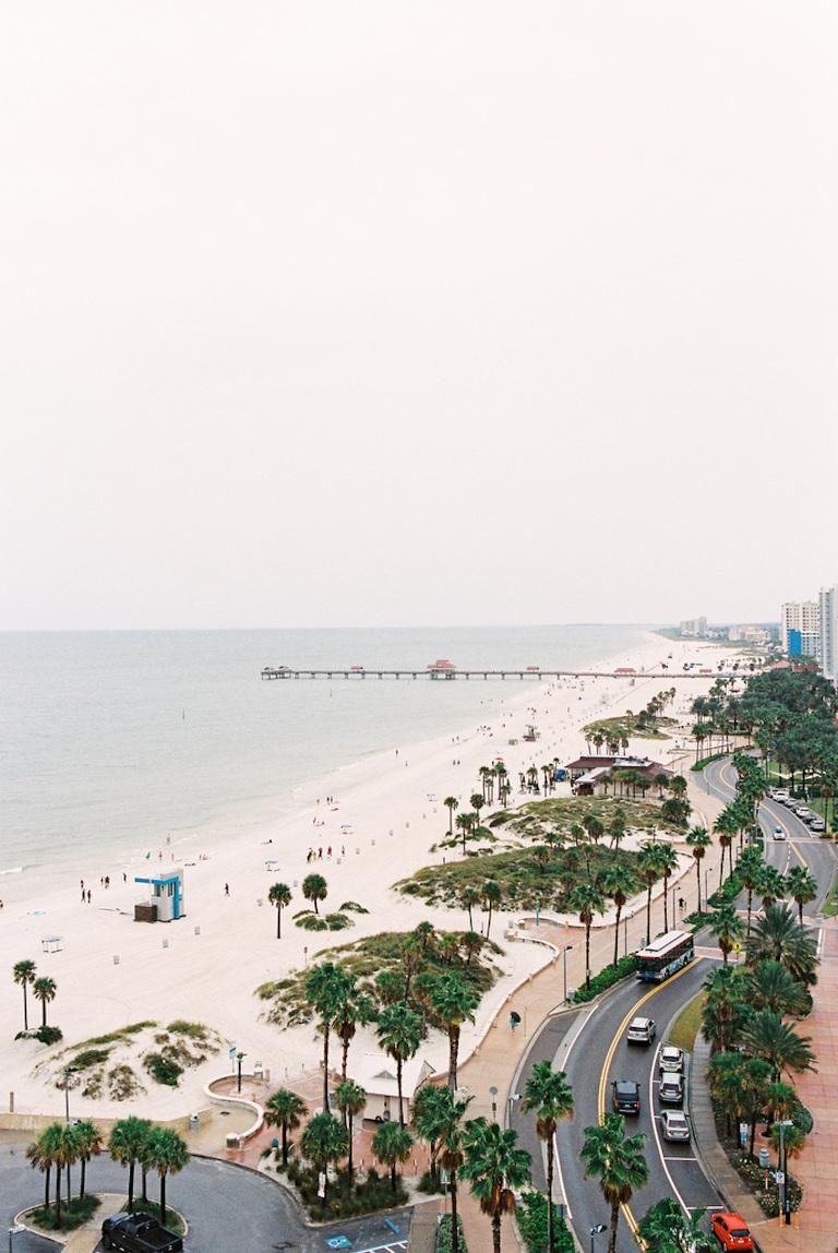 Saint Petersburg Beach View from Wedding Venue Opal Sands Resort
