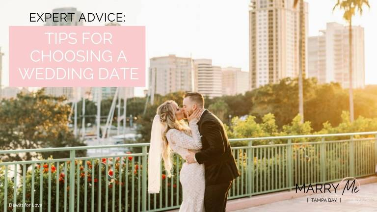Expert Advice: Tips for Choosing a Wedding Date in Florida | Dewitt for Love Photography
