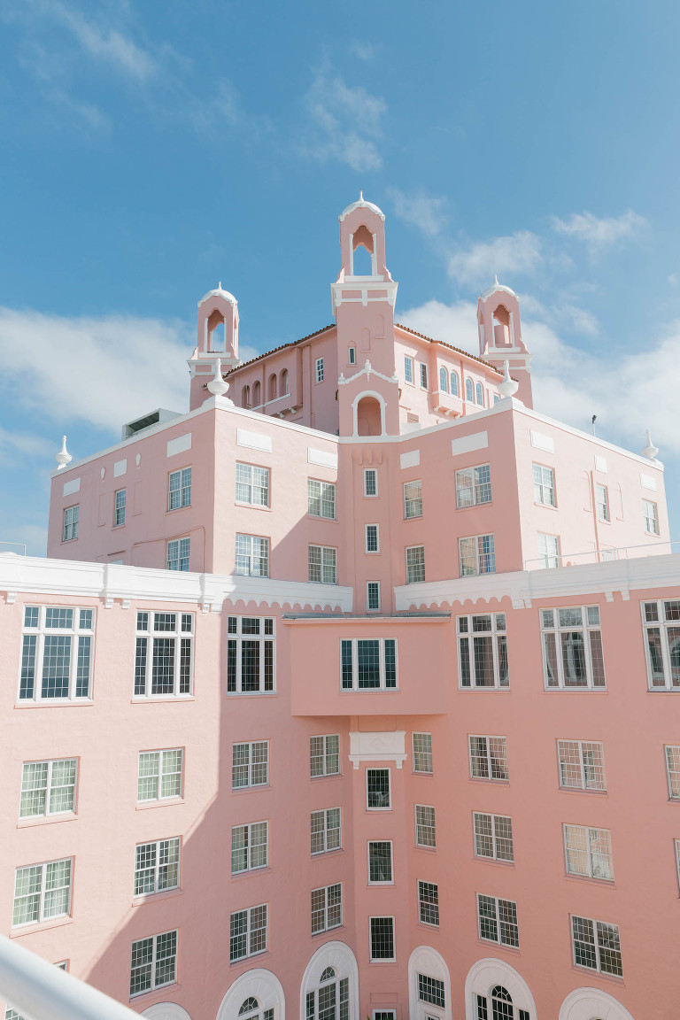 Waterfront Historic St. Pete Beach Wedding Venue the Pink Palace The Don Cesar