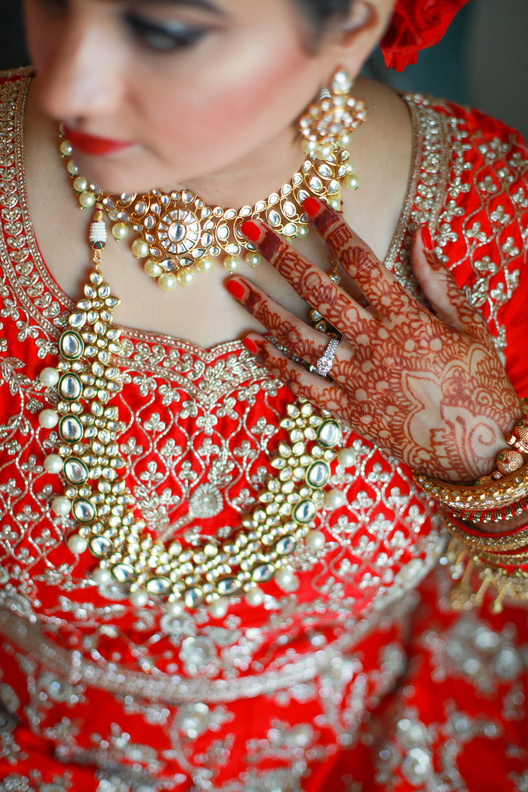 Tampa Clearwater Indian Wedding Bride Jewelry