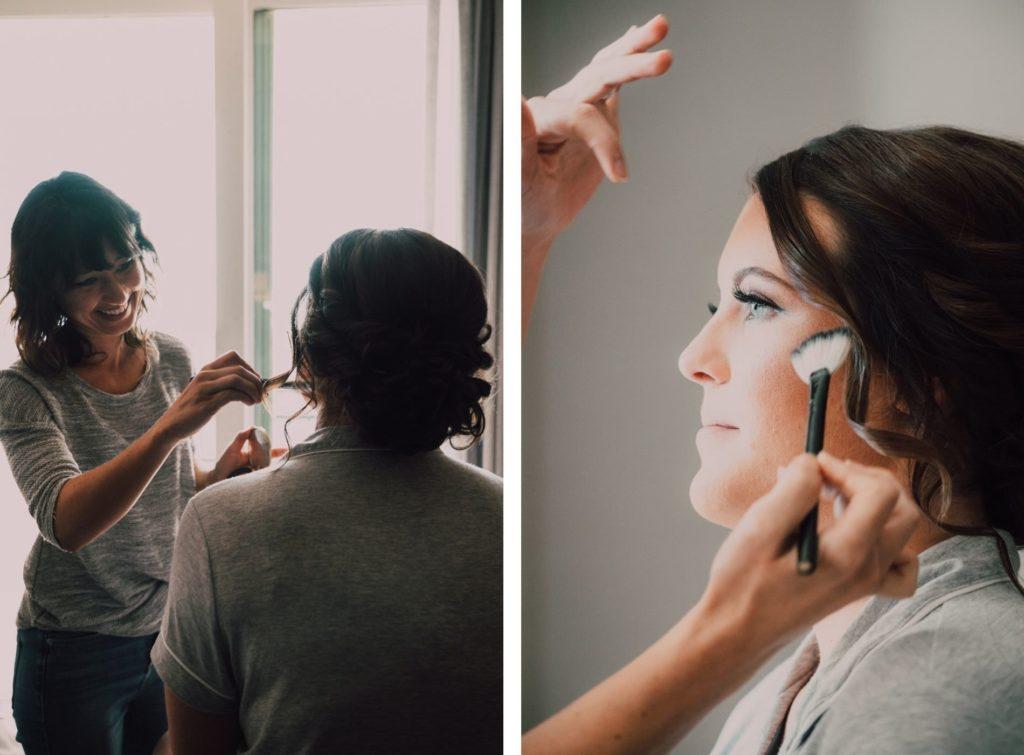 Bride Getting Ready | Tampa Wedding Makeup Artist Femme Akoi Beauty Studio