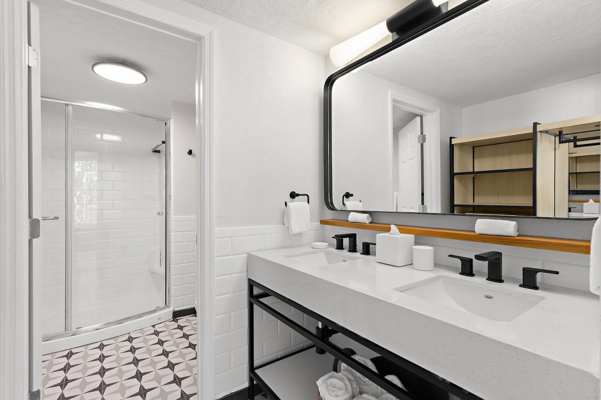 St. Pete Beach Wedding Venue Hotel Bathroom Bellwether Beach Resort