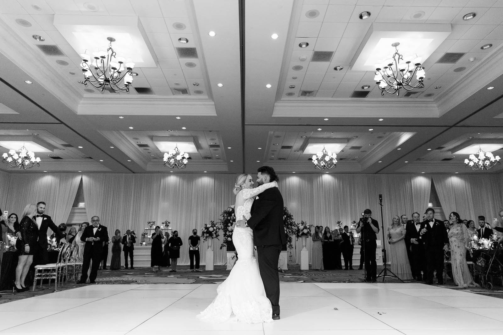 Tampa Bride and Groom First Dance Wedding Reception Photo | Tampa Bay Wedding Planner Parties A'la Carte | St. Pete Wedding Venue The Vinoy