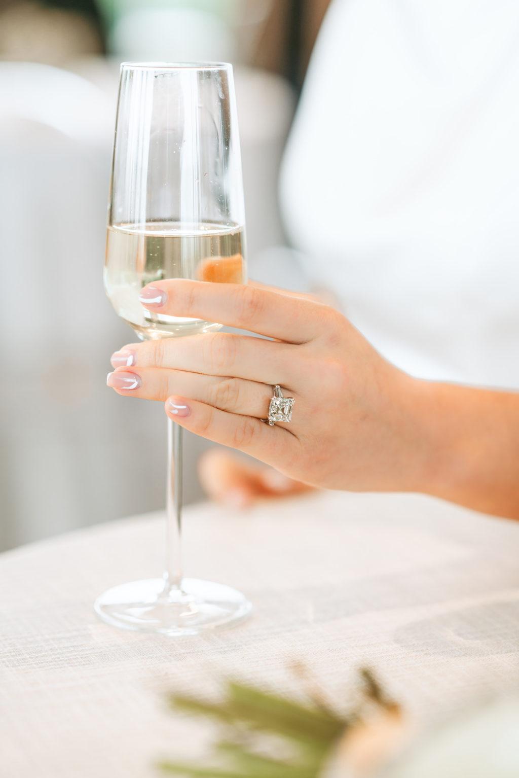 Bride Princess Cut Wedding Engagement Ring | Tampa Bay Jewelry Store International Diamond Center