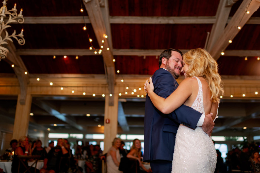 Romantic Tampa Bride and Groom First Dance Wedding Reception