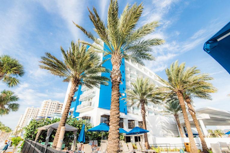 Tropical Wedding Venue Hilton Clearwater Beach
