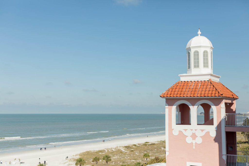 St. Pete Beach Wedding Venue The Don CeSar Pink Palace Florida Beach Wedding