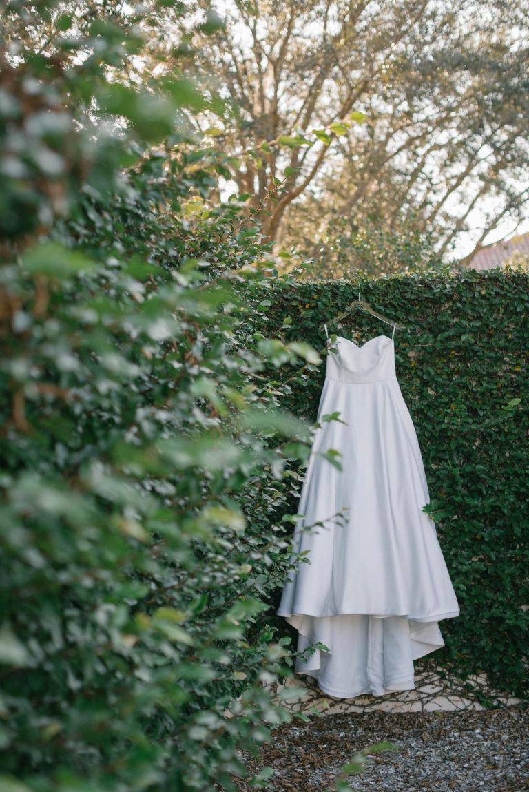 Strapless A-Line Sweetheart Neckline Classic Wedding Dress