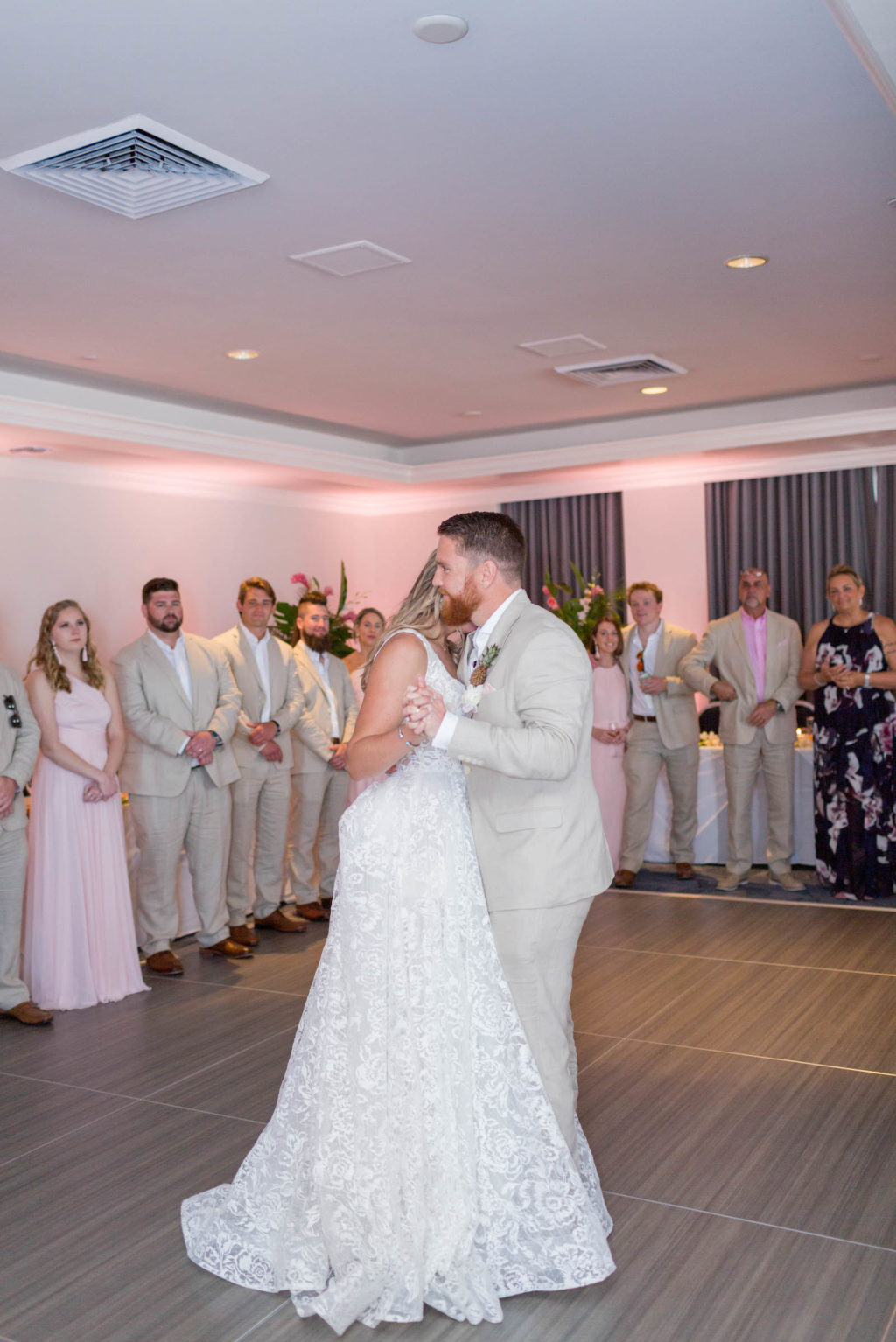 Bride and Groom First Dance at St. Pete Wedding Venue The Don CeSar