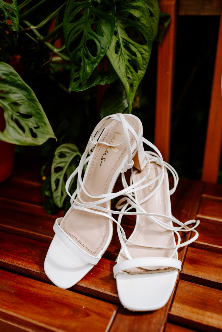 Casual Florida Bridal Shoes, Lulus Saraih White Ankle Strap High Heel Sandals