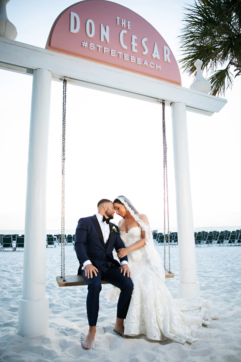 Florida Bride and Groom Beach Wedding at The Don Cesar in #StPeteBeach   Tampa Bay Wedding Photography Limelight Photography
