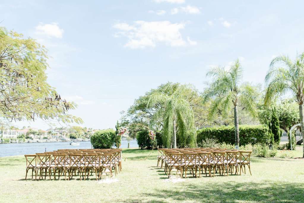 Waterfront Tampa Bay Wedding Ceremony Venue | Davis Islands Garden Club in Tampa Florida | Special Moments Event Planning