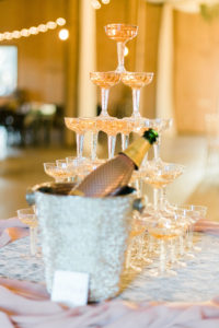 Champagne Wedding Tower   Wedding Food and Beverage Ideas