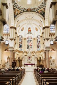 Classic Catholic Church Wedding Ceremony | Tampa Bay Florida Wedding Venue Sacred Heart Catholic Church