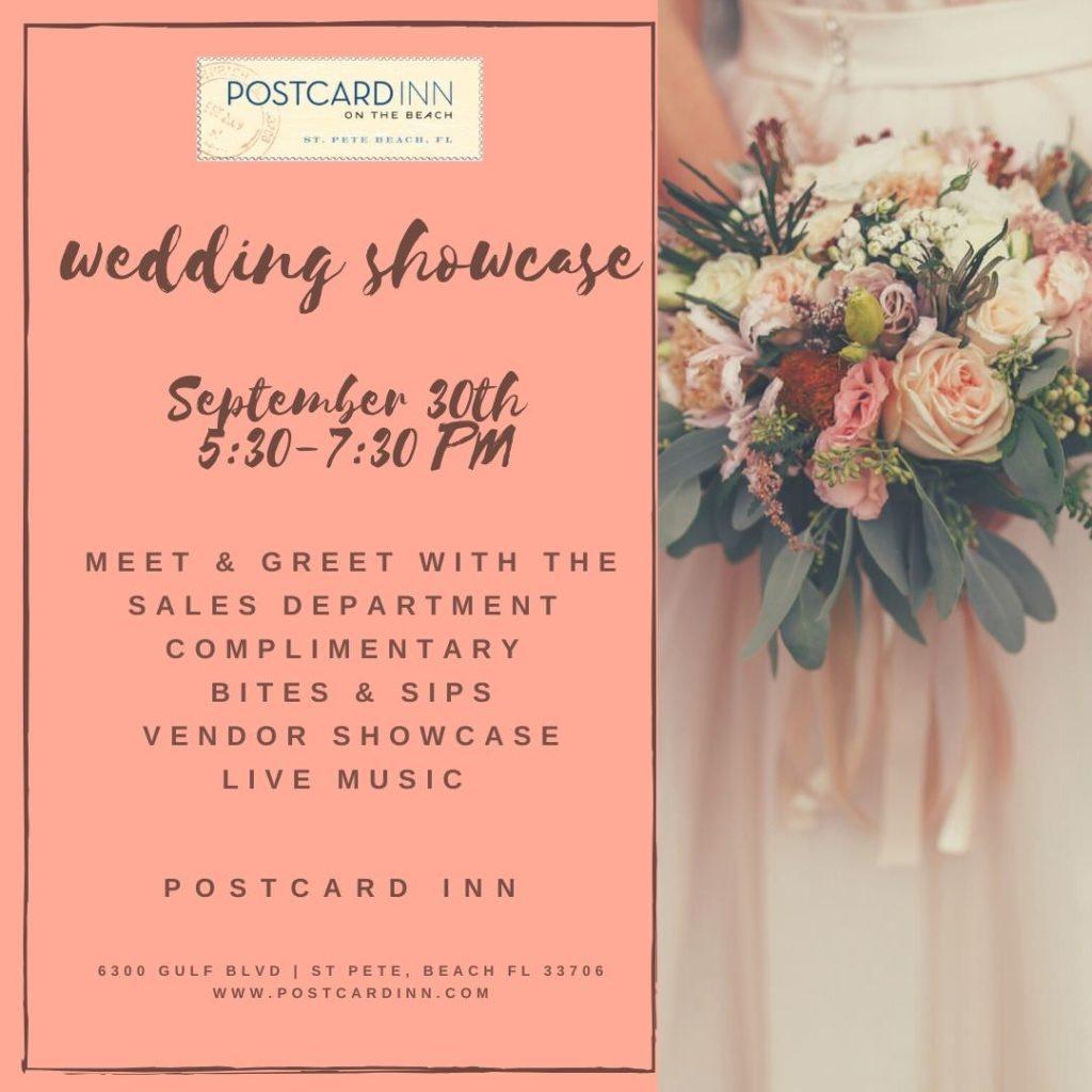 Postcard Inn Wedding Showcase 2021 | St. Pete Beach Wedding Venue