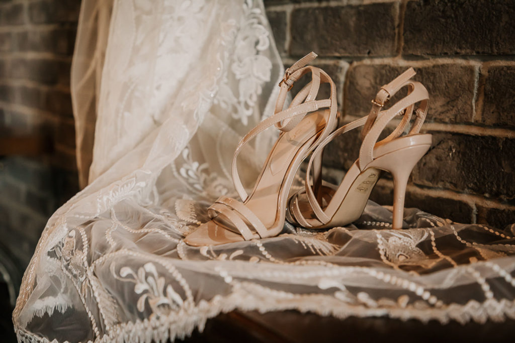 Nude Strappy Heels | Classic and Neutral Wedding Shoes | Aldo