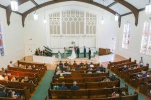 South Tampa Church Wedding Ceremony   Holy Trinity Presbyterian Church
