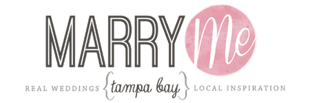 Marry Me Tampa Bay | Local, Real Wedding Inspiration & Vendor Recommendation & Reviews logo